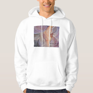 antelope canyon painting in oil hoodie