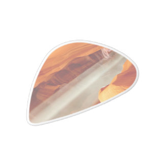Antelope Canyon White Delrin Guitar Pick