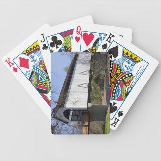Antelope Creek Covered Bridge, built in 1922 Bicycle Poker Cards