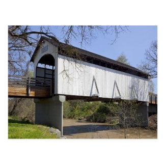 Antelope Creek Covered Bridge, built in 1922 Postcard