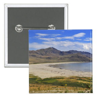 Antelope Island State Park, Great Salt Lake, 2 Inch Square Button