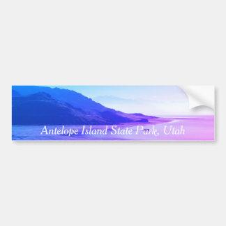 Antelope Island State Park, Great Salt Lake, Utah Bumper Sticker