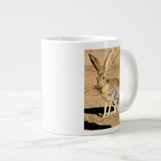 Antelope jackrabbit portrait, Arizona Large Coffee Mug