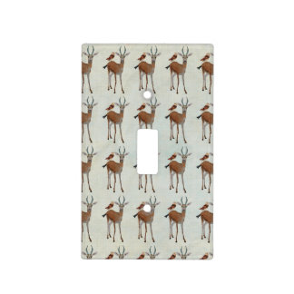 ANTELOPE & OWL Light Switch Light Switch Plates