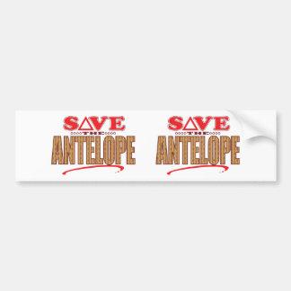 Antelope Save Bumper Sticker