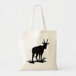 Antelope Silhouette Tote Bag