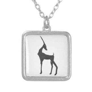 Antelope Silver Plated Necklace