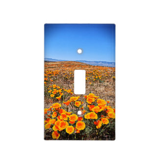 Antelope Valley California Poppy Light Switch