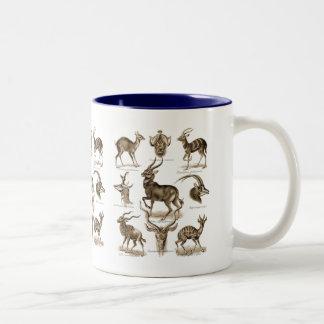 Antelopes Two-Tone Coffee Mug