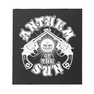 Anthem of the Sun Guns Logo Notepads