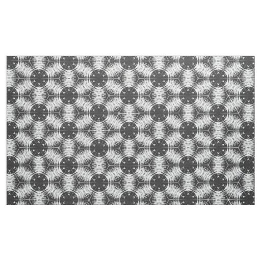 Anther Filament White & Dark Grey Fabric