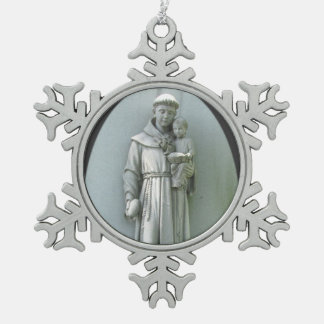 Anthony and Jesus ~ Pewter ornament