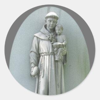 Anthony and Jesus ~ sticker