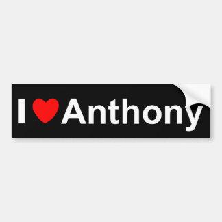 Anthony Bumper Sticker