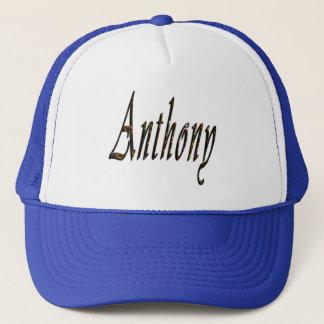 Anthony Name Logo, Trucker Hat