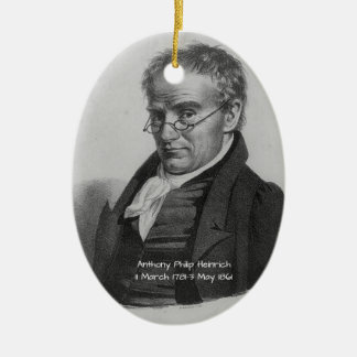 Anthony Philip Heinrich Ceramic Ornament
