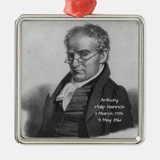 Anthony Philip Heinrich Metal Ornament