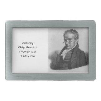Anthony Philip Heinrich Rectangular Belt Buckles