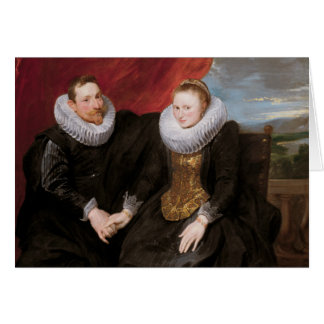 Anthony van Dyck - A Married Couple Card