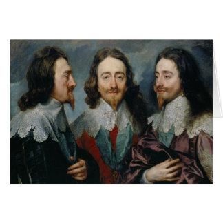 Anthony van Dyck - Charles I (1600-49) Card