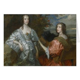 Anthony van Dyck - Katherine, Countess of... Card