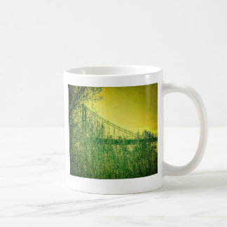 Anthony Wayne Bridge, Summer. Coffee Mug