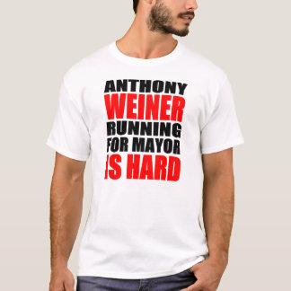 Anthony Weiner For Mayor T-Shirt