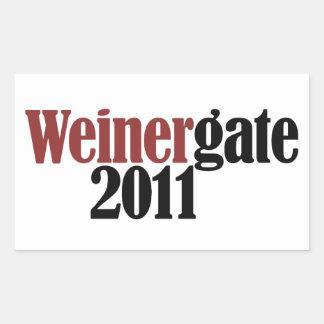 Anthony Weiner Rectangular Sticker