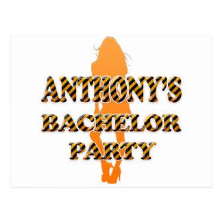 Anthony's Bachelor Party Postcard