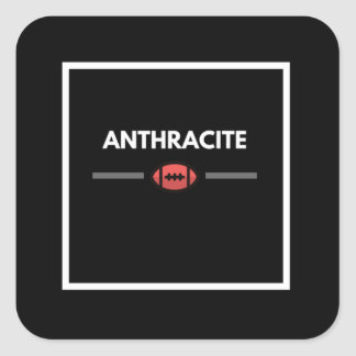 Anthracite Coal Region Football Sticker