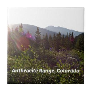 Anthracite Range, CO Tile