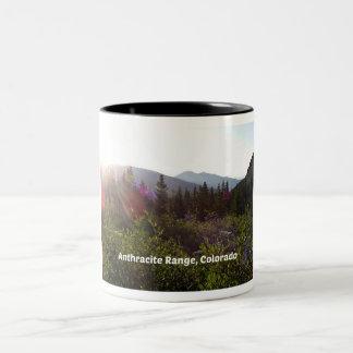 Anthracite Range, CO Two-Tone Coffee Mug