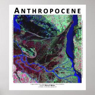 Anthropocene V - Parana River Delta, Argentina Poster
