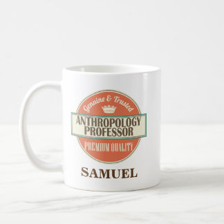 Anthropology Professor Personalized Mug Gift