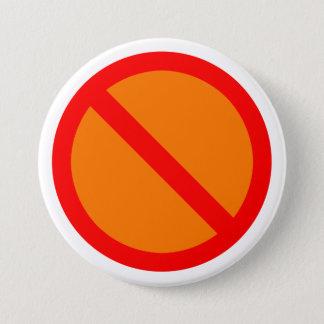 Anti 3 Inch Round Button