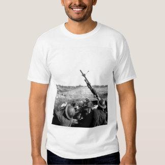 Anti-aircraft machine gun of 101_War image Tee Shirt