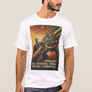 Anti-aircraft Propaganda Poster T-Shirt