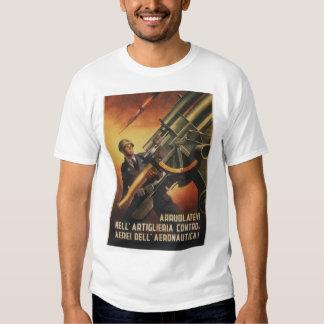 Anti-aircraft Propaganda Poster T Shirts