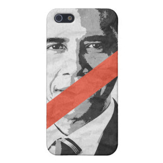 ANTI-BARACK OBAMA iPhone 5 CASE