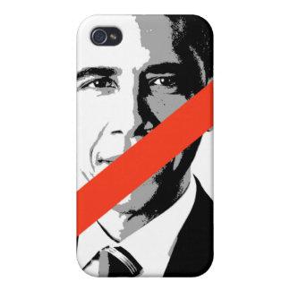 ANTI-BARACK OBAMA iPhone 4 COVER