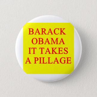 anti barack obama joke 2 inch round button