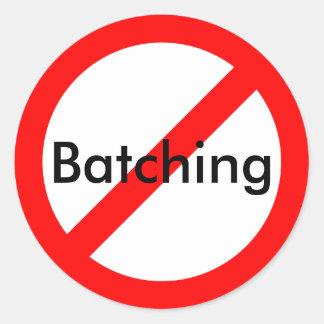 Anti-Batching Sticker