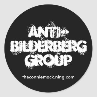 Anti-Bilderberg II Sticker