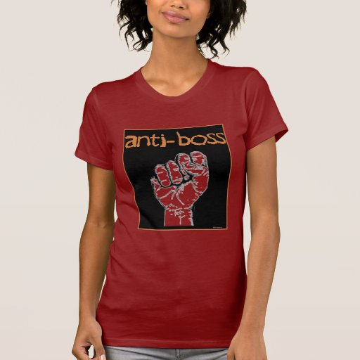 Anti Boss slave wages union workers rights labor T Shirt