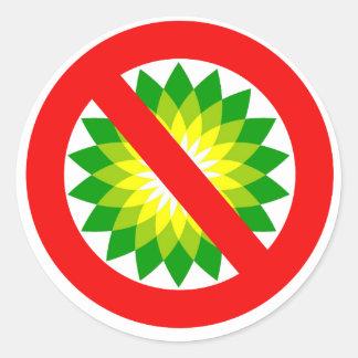 Anti-BP Round Sticker