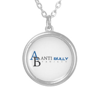 Anti-Bully Project Silver Plated Necklace