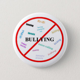 Anti Bullying 2 Inch Round Button