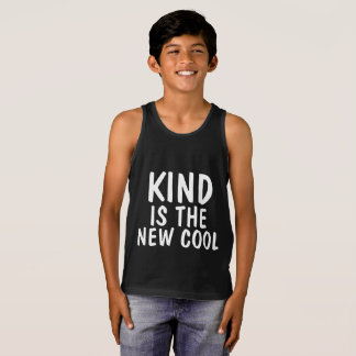 Anti-bullying T-shirts, KIND IS THE NEW COOL Tank Top