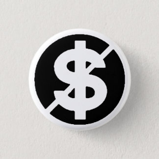 Anti Capitalist 1 Inch Round Button