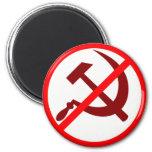Anti-Communist 2 Inch Round Magnet
